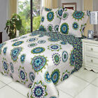 Julia Cool Oversize Coverlet Set, Luxury Microfiber Quilt by Royal Hotel