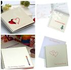 Special Year Journal Memory Maker Record Diary Keepsake Book Wedding Birth Gift