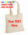 Your TEXT Here top Wedding Cotton tote bag Personalised Stag Hen Print lot (BAG)