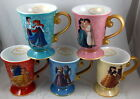 NEW Disney Store Designer Fairytale Doll Collection Couples Ceramic Mug Cup DFDC