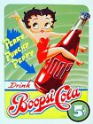 METAL VINTAGE RETRO SHABBY-CHIC BETTY BOOP TIN SIGN WALL PLAQUE / FRIDGE MAGNET £7.99 GBP on eBay