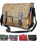 Satchel Bag Messenger Cross Body Bag Polka Dot Aztec Leopard School Bag Satchel
