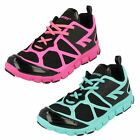 Ladies Hitec Breathable Lightweight Lace Up Trainers - Kali XT
