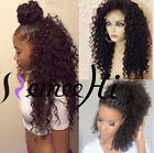 Queen Brazilian Kinky Straight  lace wigs 100% Human Remy Hair Lace Front WIGS