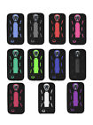 Robot Shockproof Hybrid Kickstand Protective Case Cover for Galaxy S4