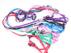 Hot Durable Comfy Adjustable Pet Dog Puppy Cat Collar Lead leash Harness Rope