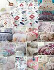 Floral Modern Quilt Duvet Cover & Pillowcase Bedding Bed Sets Flowers New