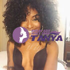 Free shipping Brazilian Human Hair Afro Curly 160% Density Full /front Wigs