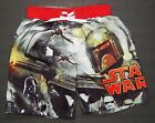 DARTH VADER BOBA FETT STAR WARS Bathing Suit Swim Trunks Boys Sizes 4 - 8  $25