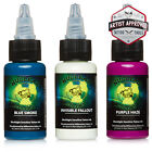 MOMs Millennium Nuclear UV Blacklight Tattoo Ink - 3 Color Set B