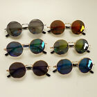 Women Round Mirror Lens Polarized Sunglasses Shades UV400 Retro Unisex Men Big