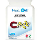 Health4All Chitosan 250mg Capsules | NATURAL SUPPLEMENT TO LOWER CHOLESTEROL £12.99 GBP on eBay