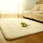New Anti-skid Shaggy Area Rug Carpet Comfy Bedroom Floor Mat Dining Room Square
