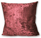 Mv08a Sherry Diamond-Crushed Velvet Cushion Cover/Pillow Case *Custom Size*