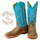Nocona Ladies Turquoise Chester Legacy Boots LD2738