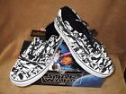 NEW VANS ERA STAR WARS DK SIDE/STRM CMO SHOE BLK/WHT MEN'S 4 $45.99 USD