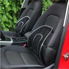 New Car Seat Office Chair Massage Pad Cushion Cool Mesh Back Lumber Support S