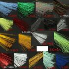 Внешний вид - 150Pcs 30cm Crystal Flash Fly Tying Material Krystal Fishing Lure Tying Making