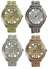 AN London ICED Hip Hop Design Full Crystal Diamante Men's Jewelled Fashion Watch