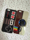 Old Camera/Gamepad/Postbox/Eiffel Tower Silicone case  for iPhone 4/5/6/6 Plus