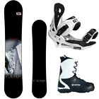 New 2016 Camp Seven Valdez Mens Snowboard Package +Summit Bindings+APX Boots