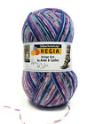 Regia Arne & Carlos Sock Yarn 4ply wool plus sock pattern - 50g ball