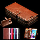 Luxury Flip PU Leather Wallet Cover Case Stand For Samsung Galaxy S6/S6 Edge
