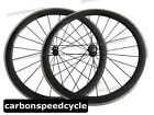 20.5/23/25mm Wide 50mm Clincher carbon wheels Alloy Braking Surface R13 hub +424