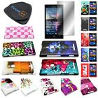 For Nokia Lumia 925 - Vibrant Design Hard Snap On Cover Case