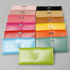 High Quality Solid Long Wallet Modern Style Multi-color Women's Fashion Acessory