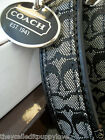 NEW COACH CLASSIC BLACK SIGNATURE LEATHER EXTRA LARGE XL DOG COLLAR XL