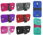 For Alcatel OneTouch Pop Astro Tough Impact Arch Stand Hybrid Hard Cover Case