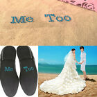 Trendy Shoe Sticker I Do Me Too Wedding Accessory Bridal and Groom Wedding Decal