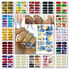 New Graphic Water Transfers Nail Art Stickers Tips Decoration Wraps Polish Decal