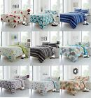 Adele Luxury Shabby Chic Reversible Cotton Blend Duvet Cover Quilt Pictorial Set