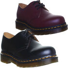 Dr Martens 3 Eyelet 1461  Women Leather Shoes Laceup Office Work Men Size