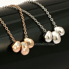A1-P394 Fashion Beans Necklace Pendant 18KGP