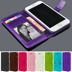 New Leather Flip Cover Credit Card Wallet Case Skin for Apple iPhone 5C C