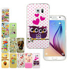 Rubber Soft TPU Silicone Phone Back Case Cover For Samsung Galaxy S6 G9200 DB4