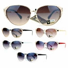 VG Eyewear Womens Rhinestone Jewel Bling Iced Out Cat Eye Diva Sunglasses