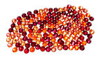 144 Swarovski 2058/2088 crystal flat backs No-Hotfix rhinestones RED Colors Mix