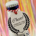 Personalised White/Kraft Cheers Tags Wine/Champagne Wedding/Bachelorette Party