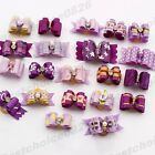 Lot Pet Hair bows for small dog puppy cat grooming accessories Choose by Color