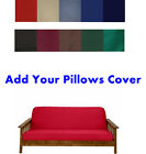 Внешний вид - Made In USA 100% High Quality Solid Color Futon Cover Case! Sure Fit! Free S/H