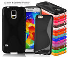 Smartphone TPU Silicone Bumper X-Line S-Line Protection Cover Case Etui Wallet