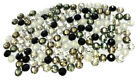 144 Swarovski 2058 / 2088 crystal flat backs No-Hotfix rhinestones BLACK & WHITE