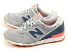 New Balance NB WR996MNK D Classic Casual Fashion Lifestyle Shoes Grey/Navy/Pink