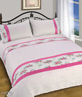 Duvet Quilt Cover Bedding Set with Pillowcases Single Double King All Sizes