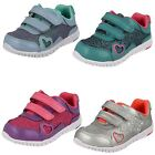 Clarks Infant Girls First Velcro Trainers Azon Maze