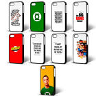 THE BIG BANG THEORY SHELDON LEONARD PHONE CASE FOR iPHONE 4 5 6 iPOD 4th 5th FP